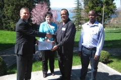 Uganda NTRL receives SRL certificate from Christopher Gilpin_ WHO