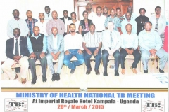 Consultative meeting group photo