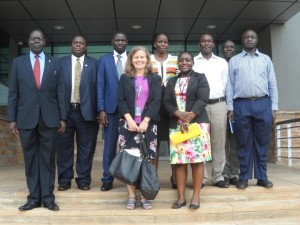 CDC Uganda Country Director visits UNHLS/NTRL
